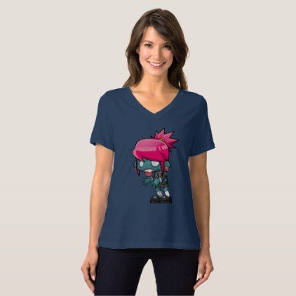 #funny - #Zombie Girl T-Shirt