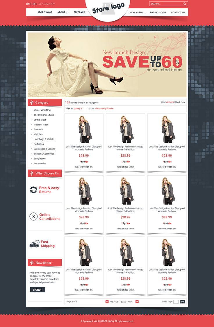 unique ebay store templates listing auction html template free setup