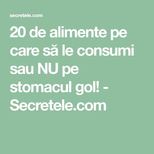 20 de alimente pe care să le consumi sau NU pe stomacul gol! - Secretele.com