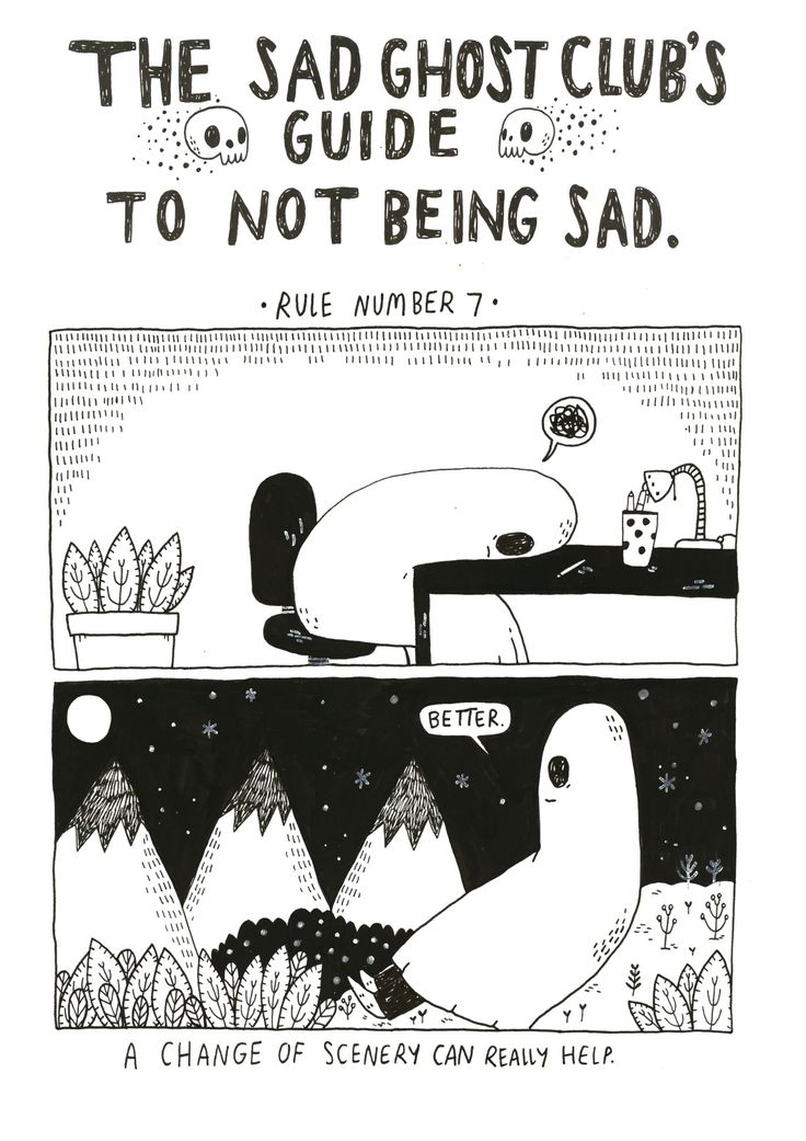 15 best The Sad Ghost Club's Guide to Not Being Sad images