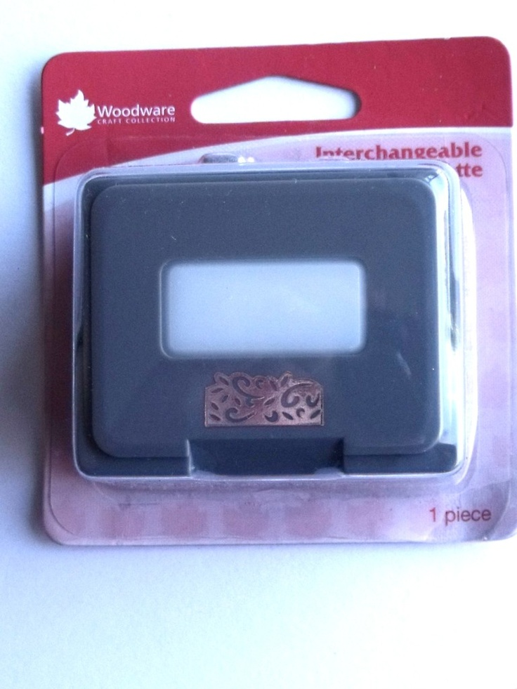 WOODWARE CRAFTY EDGER CASSETTE - ANTIQUE FLORAL    Cassette for use only with the Crafty Edger CP43 Set. For best results use 110gsm - 180gsm craft paper, incorrect thickness will result in the punch jamming.