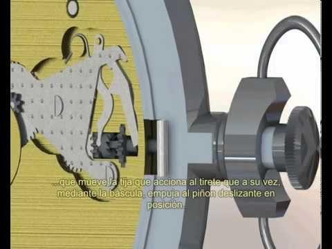 Para los aprendices de relojería: Animación funcionamiento reloj mecánico