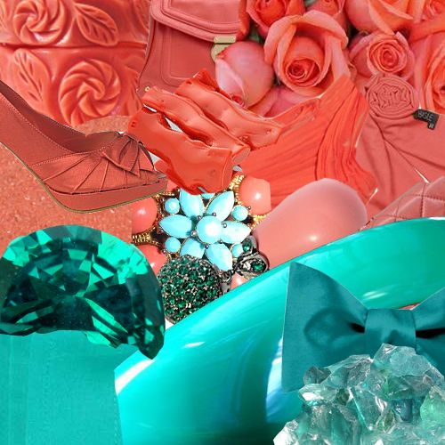 Stunning Coral And Teal Wedding Colors Pictures - Styles & Ideas ...
