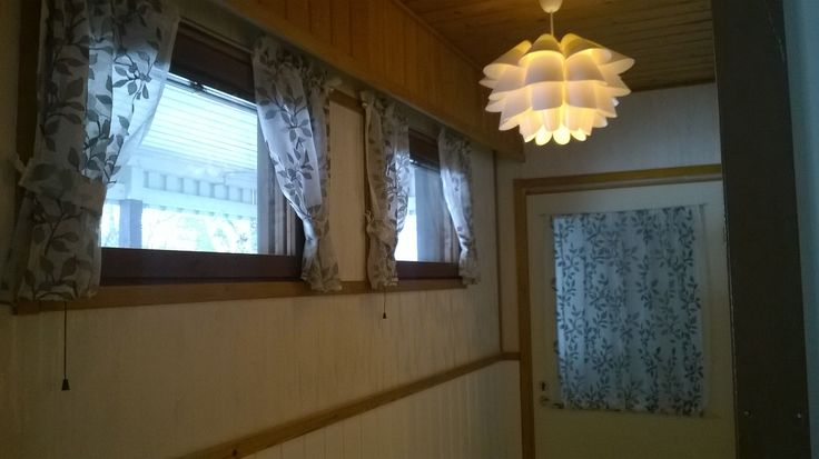 Small window curtains and door curtain