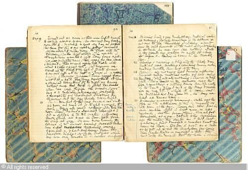 WILSON Edward Adrian - Transcription by his father of Edward Wilson's Antarctic diary