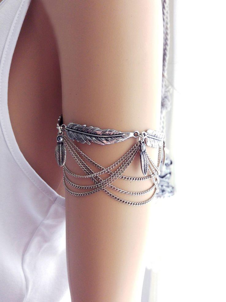 tornozeleira Boho, bijoux estilo boho,acessórios femininos, revenda bijoux,revenda bijuterias,bijuterias bijoux atacado,Pulseira no antebraço