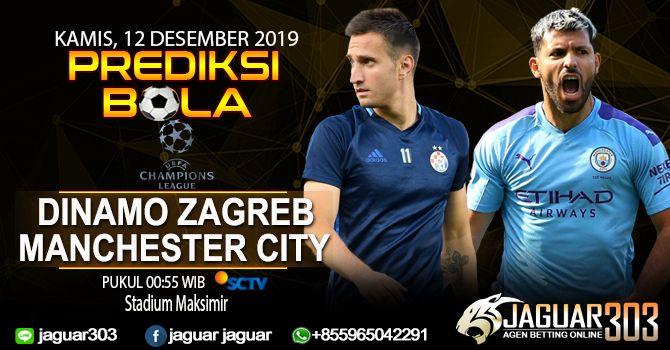 Prediksi Dinamo Zagreb Vs Manchester City Liga Champions 12 Desember 2019 Manchester City Zagreb Manchester