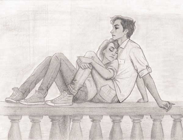 Romantic-Couple-Pencil-Sketches-and-Drawings-31.jpg (600×459)