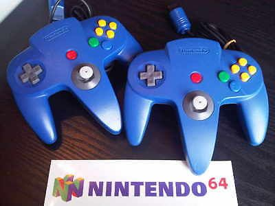 x 1 Official Nintendo N64 Controller Pad BLUE