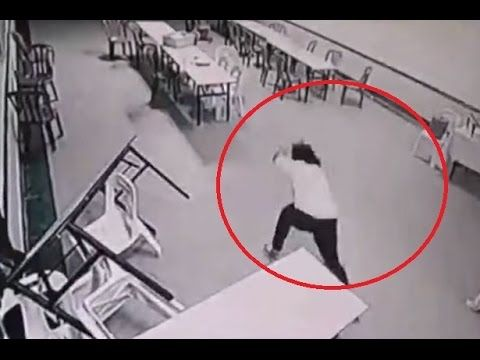 5 Very Chilling Videos Of Ghosts Caught On CCTV Cameras