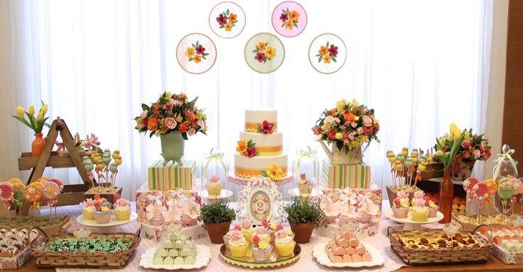 Flores naturais sofisticam a decoração das festas infantis; veja ideias - Gravidez e Filhos - UOL Mulher