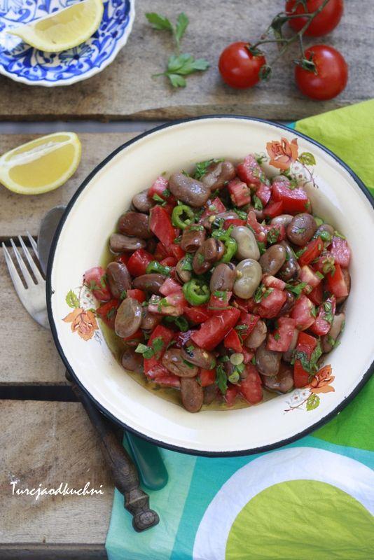 Turcja od kuchni: Sałatka z bobem