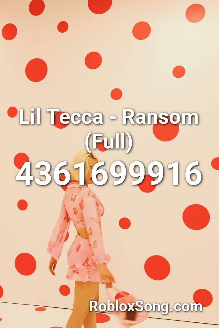 Lil Tecca Ransom Full Roblox Id Roblox Music Codes Roblox Roblox Codes Coding