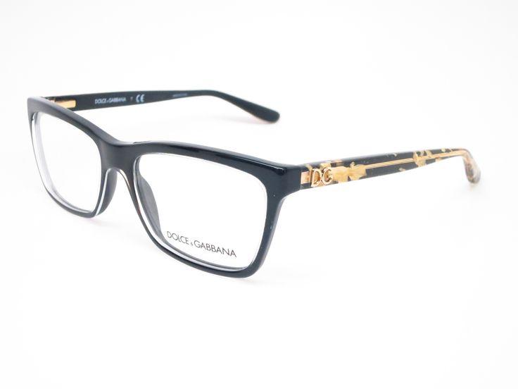 Dolce & Gabbana DG 3220 Crystal on Black 2917 Eyeglasses