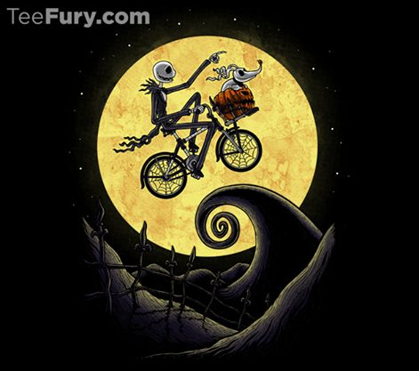 Geek Gear: Nightmare Before Christmas/E.T. 'The Shadow On The Moon ...