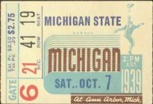 1939 at Ann Arbor: Michigan 26, Michigan State 13
