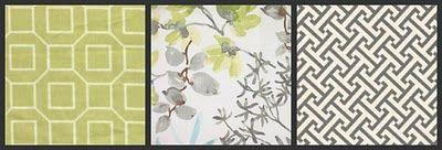 p kaufmann fabrics leaf in cloud | , these fabrics are: P Kaufmann Soho (Citron); Braemore Gazebo (Cloud ...