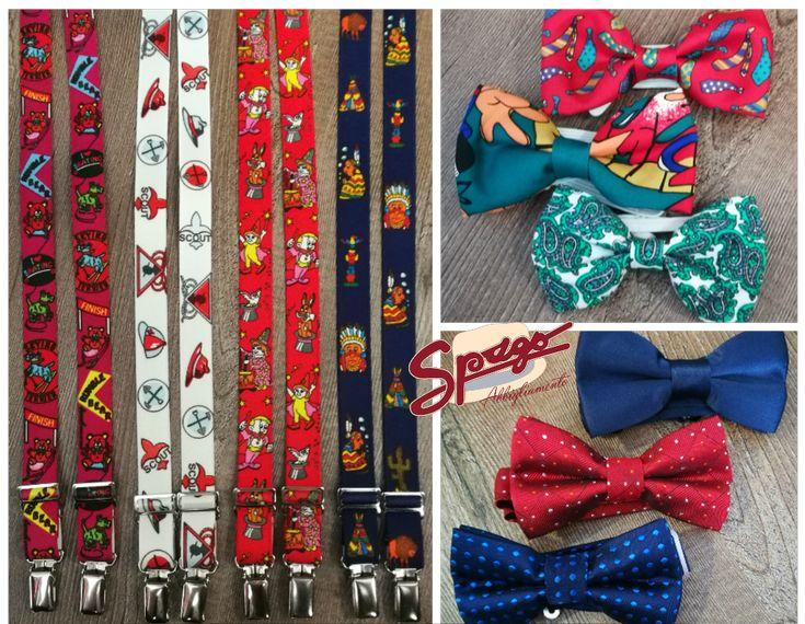 ✨✨ ACCESSORI BIMBO ✨✨  Maggio è un mese ricco di cerimonie. Da Spago potete trovare una vasta scelta di bretelle e papillons per i vostri BIMBI. Tutti prodotti In ITALIA.  #SpagoAbbigliamento #AbbigliamentoUomo #SpagoUomo #AccessoriUomo #NuoviArrivi #NuovaCollezione #NewCollection #SpringSummer2017 #Bimbo #AccessoriBimbo #Papillon #Bretelle #MadeInItaly Ravenna24Ore Abbigliamento Uomo