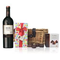 Buy & Send Bordeaux - Dulong Reserve and Chocolates Hamper