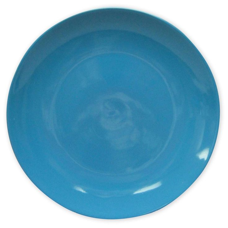 "Entertain in style with the Room Essentials™ Coupe Blue Dinner Plate. This stoneware plate is on-trend in blue. They are dishwasher and microwave safe – making them perfect for everyday use. You'll love serving up dinner on these colorful dinner plates - they will really pop with your table display. 1""Hx10""Wx10""L"