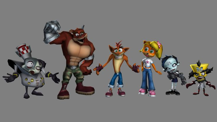 1920x1080 Background In High Quality - crash team racing