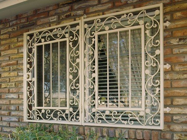 Window Guard Wrought Iron Burglar Bars Window Security Bars