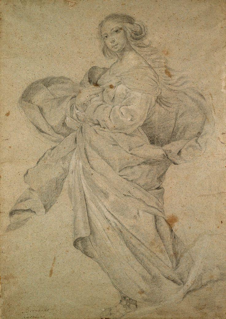 Bernardo Cavallino   1616-1656   The Virgin Immaculate   The Morgan Library…