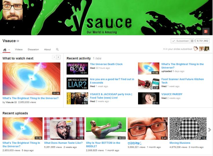 Vsauce - Strange questions, amazing answers!