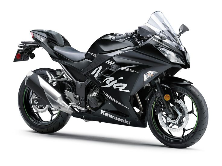 2017 NINJA® 300 ABS WINTER TEST EDITION Sport Motorcycle by Kawasaki