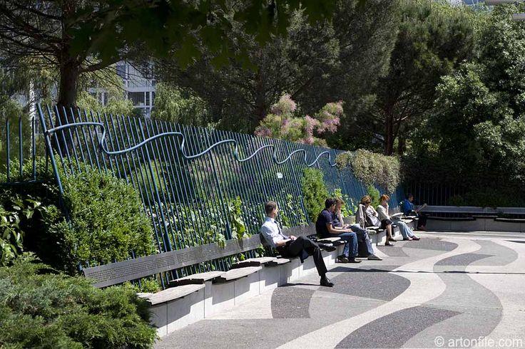 139 best postmodernism landscape design images on for Jardin atlantique