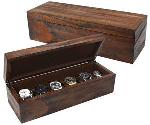 6 Piece Watch Box/Cufflink Box/Ring by ChinaDollsCloset on Etsy