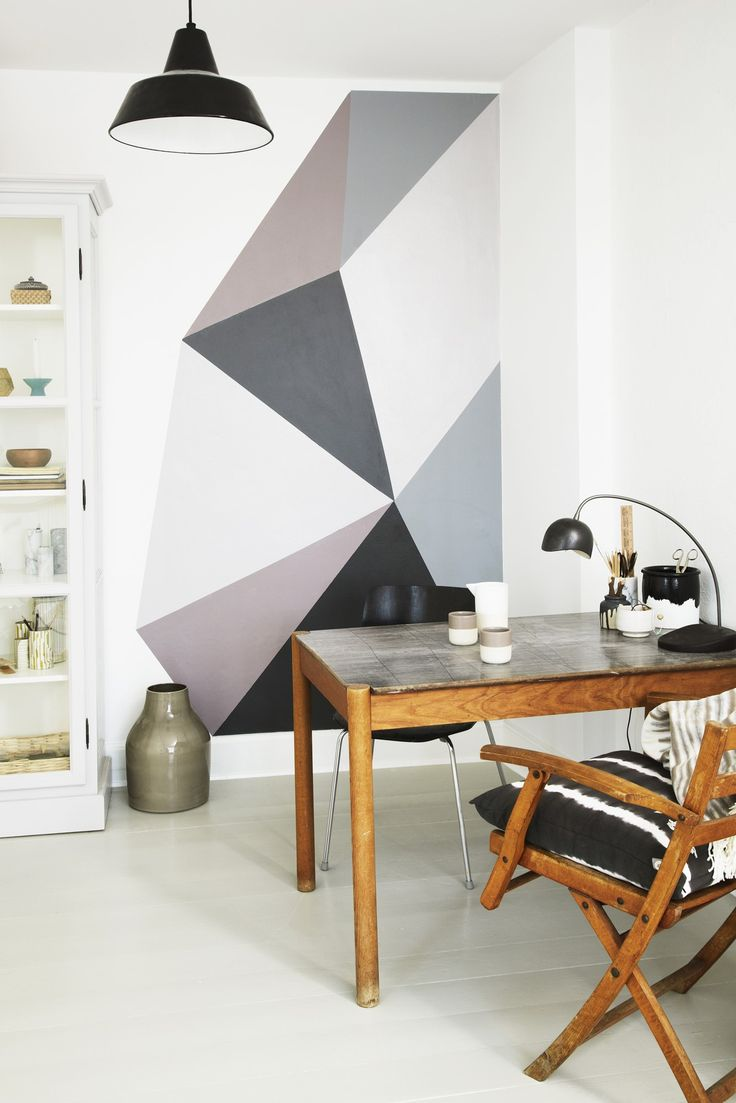 DIY: graphic wall art