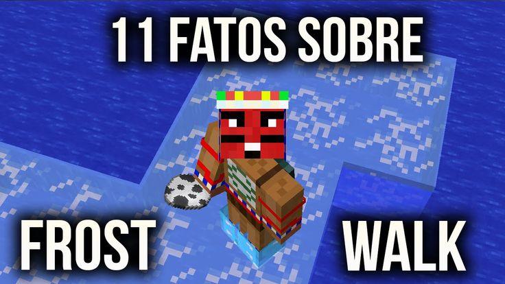 Minecraft 1.9.0 - 11 COISAS P/ FAZER COM BOTAS FROST WALK