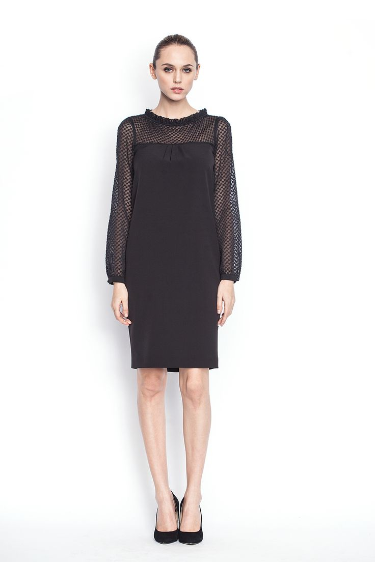 www.nissa.com  #nissa #outfit #fashion #style #model #fashionista #beautiful #dress #black