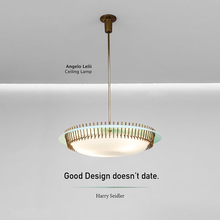 Good Design doesn't date.