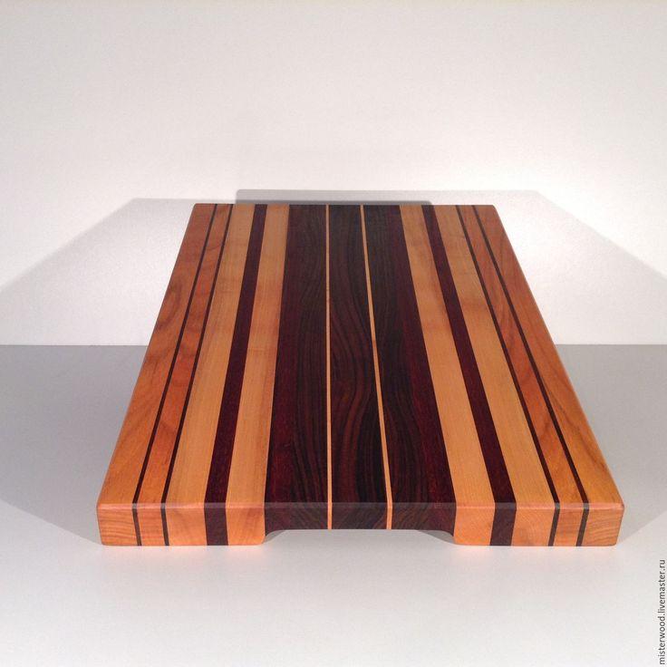Купить РАЗДЕЛОЧНАЯ ДОСКА ИЗ ЦЕННЫХ ПОРОД ДРЕВЕСИНЫ - разделочные доски, деревянные доски