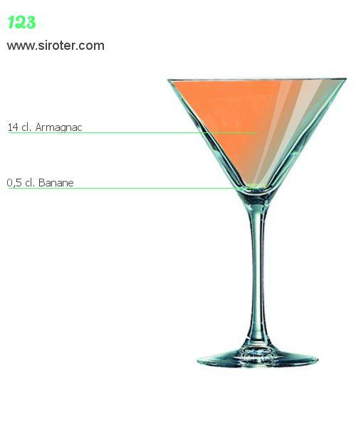 Recette Cocktail 123