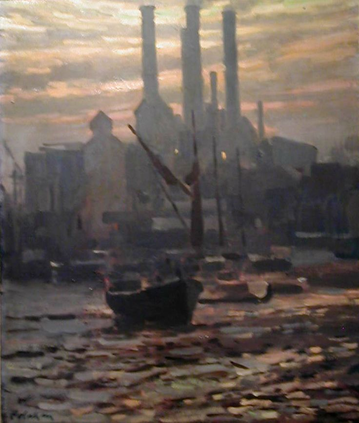 Sailing barge on the Thames by Colin Colahan