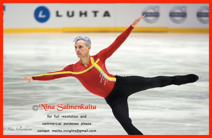 Adam Rippon USA at Finlandia Trophy October 2015