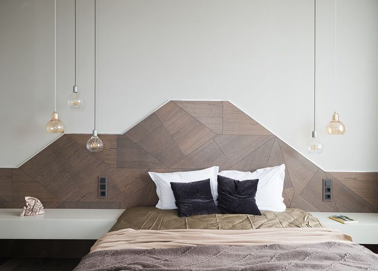 Headboard Design Idea – Create A Landscape Design From Wood
