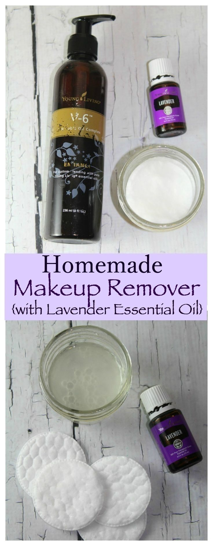 This Homemade Makeup Remover with Lavender Essential Oil