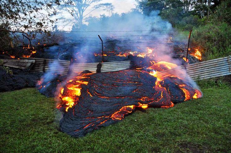 Geology IN: Kilauea Volcano Lava Inches Closer to Pahoa Marketplace