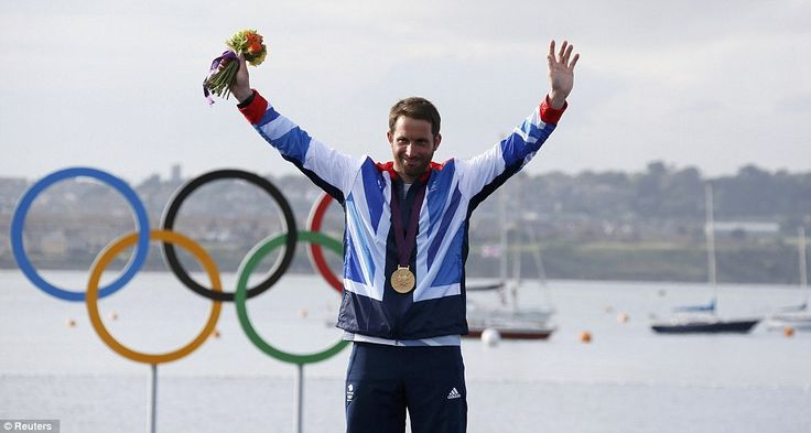 'Sir Ben' is king of the waves: Ainslie wins fourth gold to become best ever Olympic sailor
