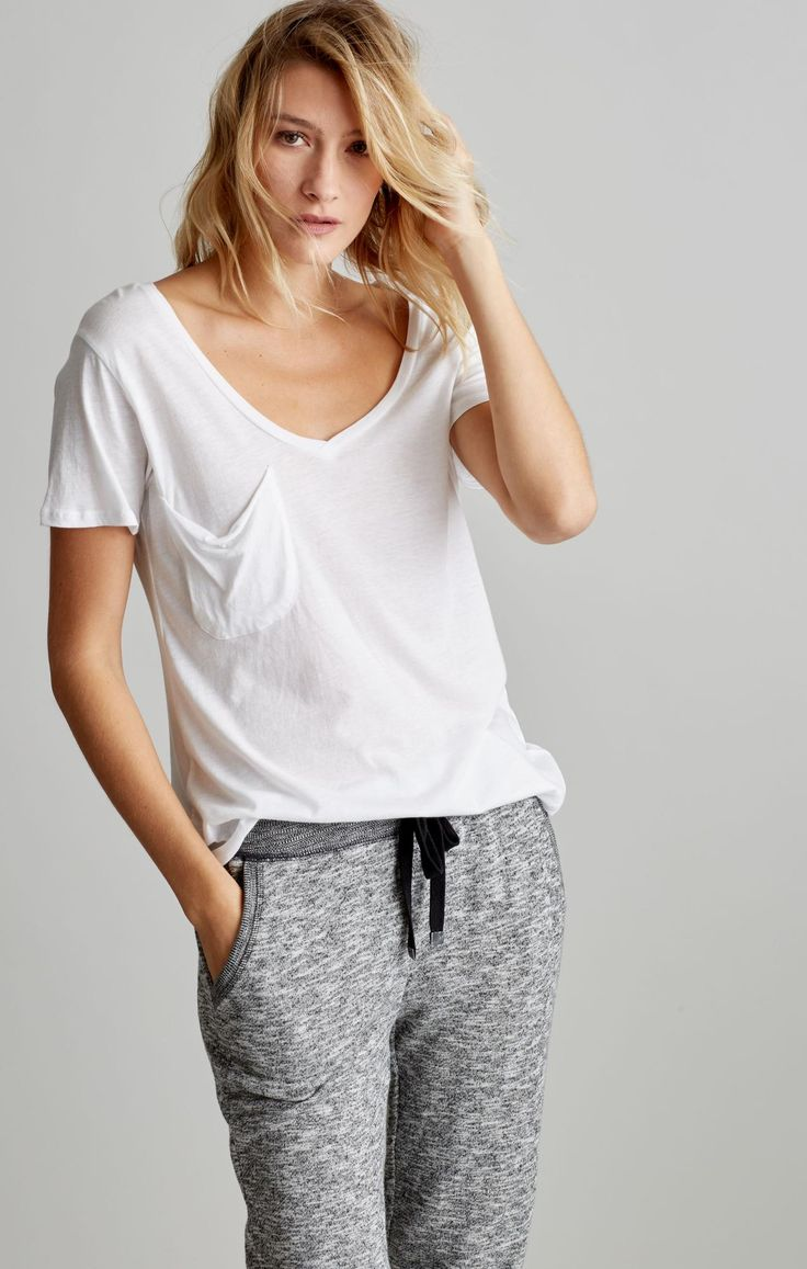 Our fav tee! The pocket tee and comfy sweats from Z Supply
