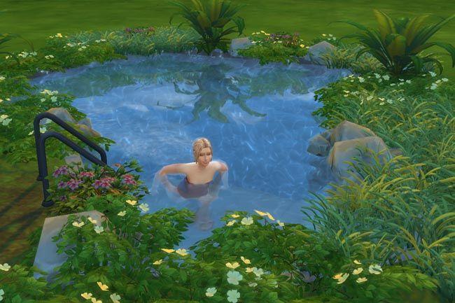59 best images about the sims 4 on pinterest for Naturteich zum schwimmen