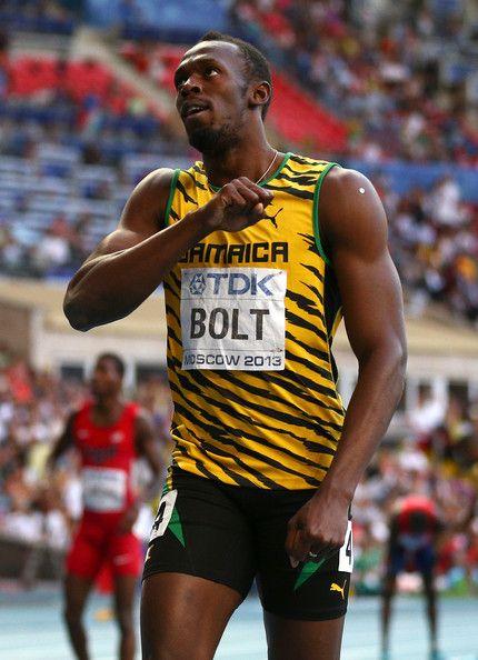 Usain Bolt Photos: 14th IAAF World Athletics Championships Moscow 2013 - Day Eight