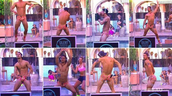 HAHAHAHAHAHAHAHAHAHAHAHAHA ..yeah, u dance like the whole of australia isnt watching u dion!