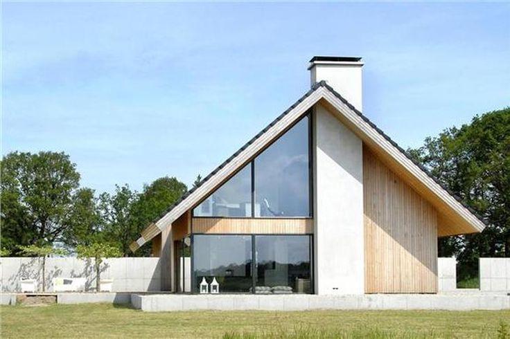 Foto: houten gevel met glazen wanden. Geplaatst door Leobirza op Welke.nl