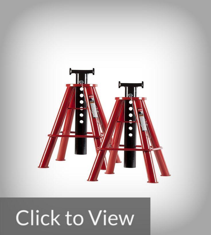 Sunex 1310 10 Ton Medium Height Pin Type Jack Stands Instead Of The Triangular Ratchet Edges The Sunex 1310 10 Ton Medium Height Pi Jack Stands Jack Standing