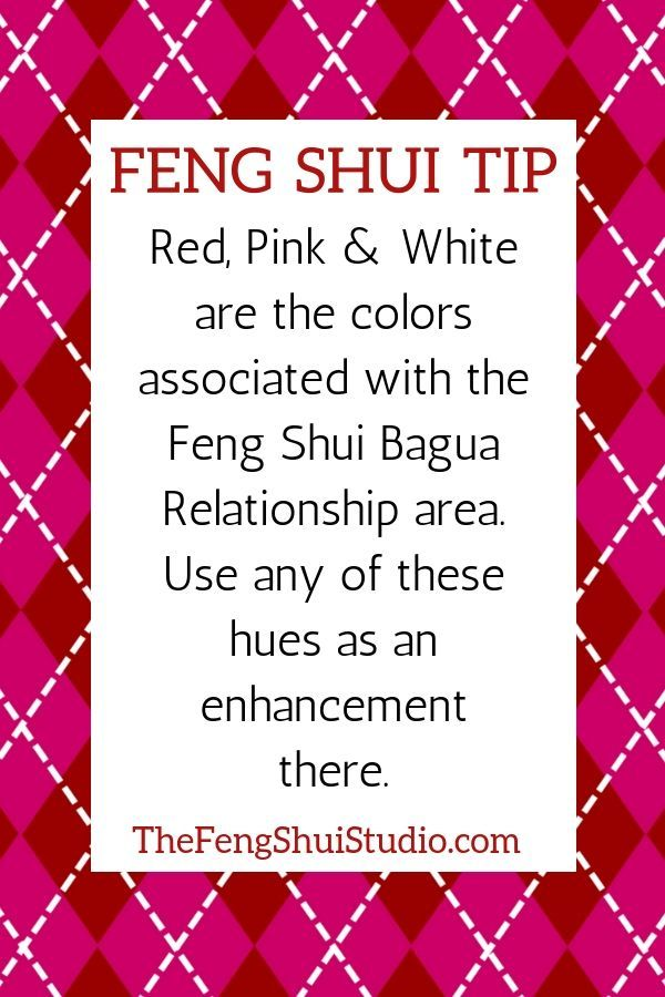 The Relationship Area Of Your Feng Shui Home Is A Great Place To